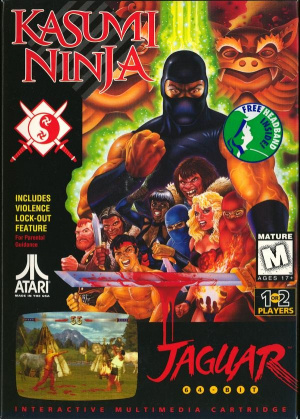 Kasumi Ninja sur Jaguar