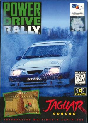 Power Drive Rally sur Jaguar