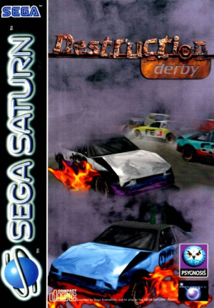 Destruction Derby sur Saturn