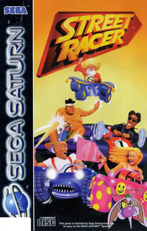 Street Racer sur Saturn