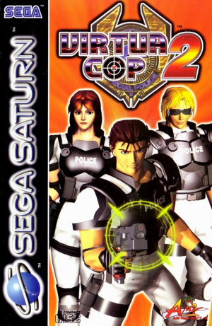 Virtua Cop 2 sur Saturn