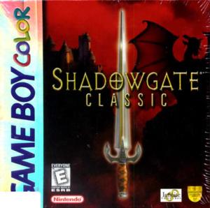 Shadowgate Classic sur GB