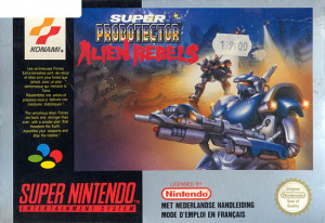 Super Probotector : Alien Rebels sur SNES