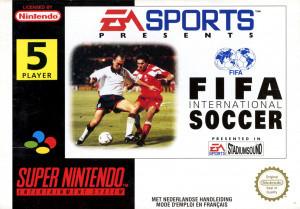 FIFA International Soccer sur SNES