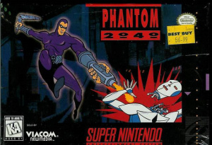 Phantom 2040 sur SNES