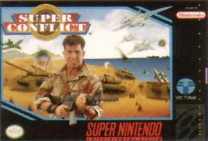 Super Conflict : The Mideast sur SNES