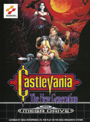 Castlevania : The New Generation sur MD