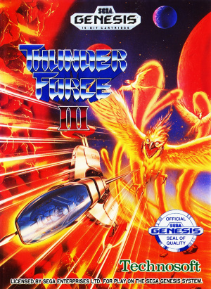 Thunder Force III sur MD