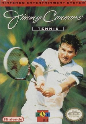 Jimmy Connor's Tennis sur Nes