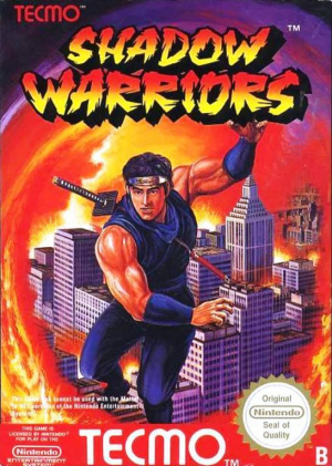 Shadow Warriors sur Nes