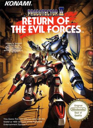 Probotector II : Return of the Evil Forces sur Nes