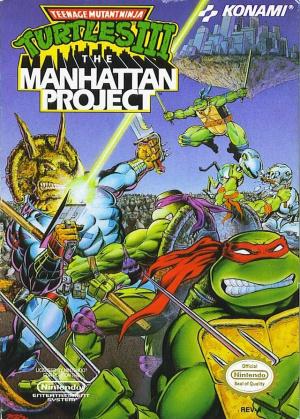 Teenage Mutant Ninja Turtles 3 : The Manhattan Project sur Nes