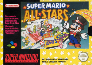 Super Mario All-Stars sur SNES