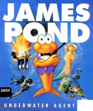 James Pond : Underwater Agent sur Amiga