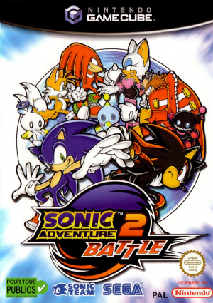 Sonic Adventure 2 Battle sur NGC