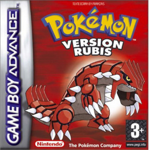 Pokémon Version Rubis sur GBA