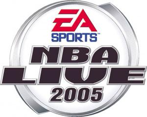 NBA Live 2005 sur GBA