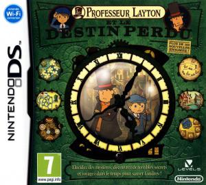 Professeur Layton et le Destin Perdu sur DS