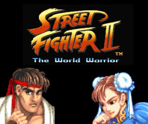Street Fighter II sur Wii