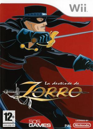 La Destinée de Zorro sur Wii