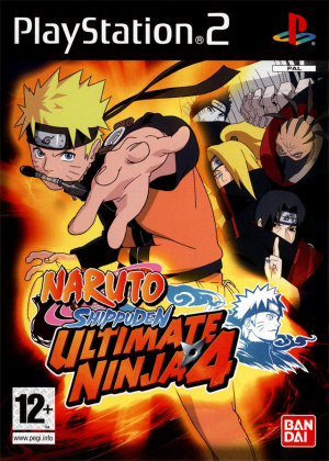 Naruto Shippuden : Ultimate Ninja 4 sur PS2