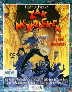 Zak McKracken and the Alien Mindbenders sur Amiga