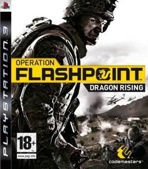 Operation Flashpoint : Dragon Rising sur PS3