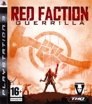 Red Faction : Guerrilla sur PS3
