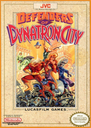 Defenders of Dynatron City sur Nes