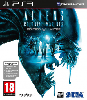 Aliens : Colonial Marines sur PS3
