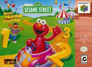 Sesame Street : Elmo's Number Journey sur N64
