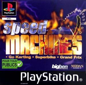 Speed Machines sur PS1