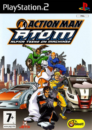 Action Man : A.T.O.M. sur PS2