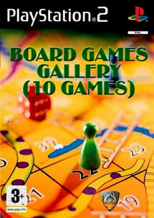 Board Games Gallery sur PS2