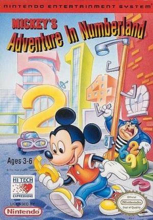Mickey's Adventures in Numberland sur Nes