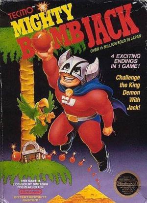 Mighty Bomb Jack sur Nes