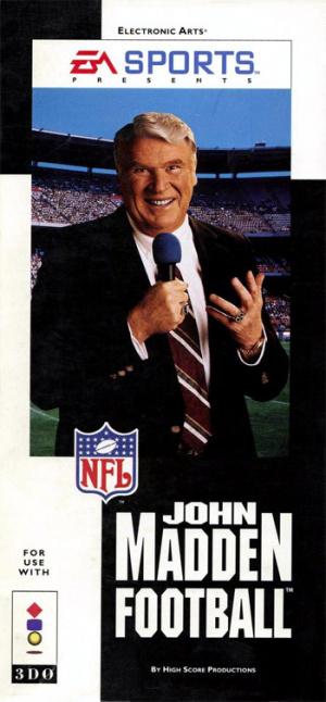 John Madden Football sur 3DO