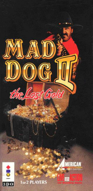 Mad Dog II : The Lost Gold sur 3DO