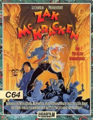 Zak McKracken and the Alien Mindbenders sur C64