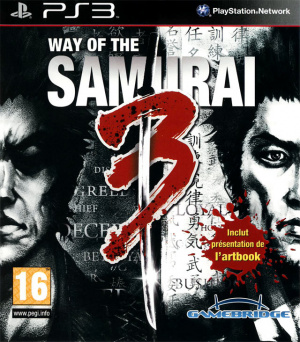 Way of the Samurai 3 sur PS3
