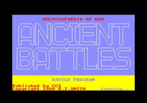 Encyclopedia of War: Ancient Battles sur CPC