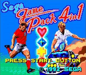 Sega Game Pack 4 in 1 sur G.GEAR