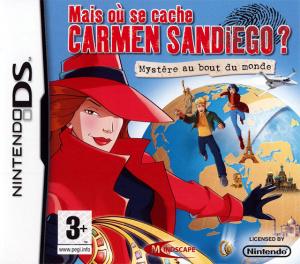 Carmen San Diego sur DS et PC