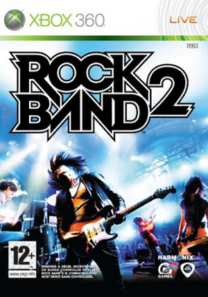 Rock Band 2 sur 360