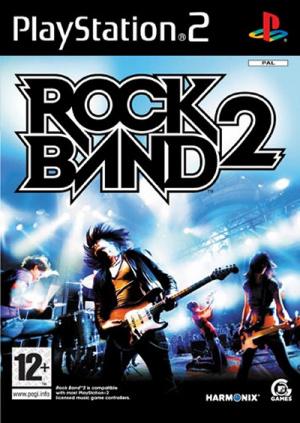 Rock Band 2 sur PS2