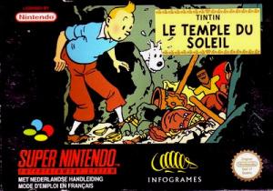 Tintin : Le Temple du Soleil sur SNES
