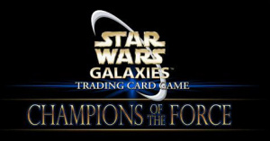 Star Wars Galaxies Trading Card Games : Champions of the Force sur PC