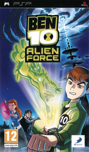 Ben 10 : Alien Force sur PSP