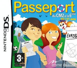 Passeport : du CM2 a la 6eme sur DS