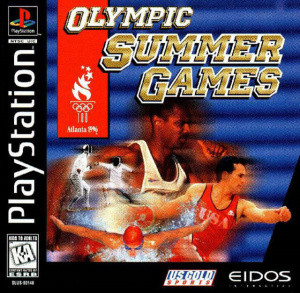 Olympic Summer Games : Atlanta 96 sur PS1